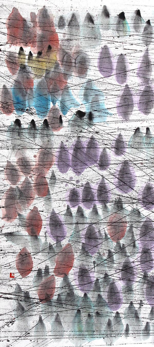rainy forest(パネル)